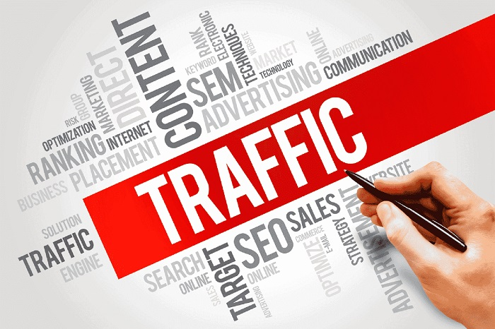 Lượng traffic đến website và các loại traffic hiện nay