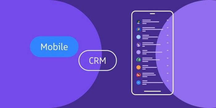 Mô hình Mobile CRM dành cho smartphone và máy tính bảng