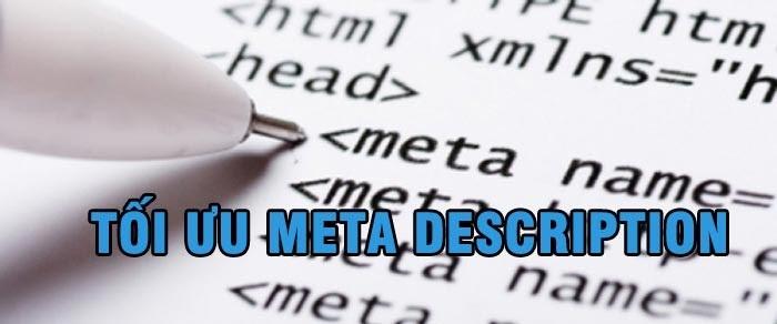 Tối ưu thẻ meta description giúp tăng tỷ lệ CTR